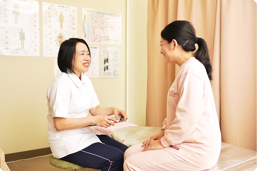 女性が安心して通える施術院です。